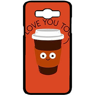 Jugaaduu Coffee Love Back Cover Case For Samsung Galaxy J7 - J701433