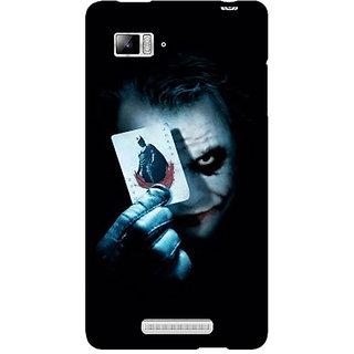 Jugaaduu Villain Joker Back Cover Case For Lenovo K910 - J710032