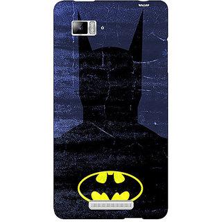 Jugaaduu Superheroes Batman Dark knight Back Cover Case For Lenovo K910 - J710042