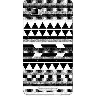 Jugaaduu Aztec Girly Tribal Back Cover Case For Lenovo K910 - J710069