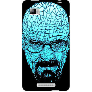 Jugaaduu Breaking Bad Heisenberg Back Cover Case For Lenovo K910 - J710428