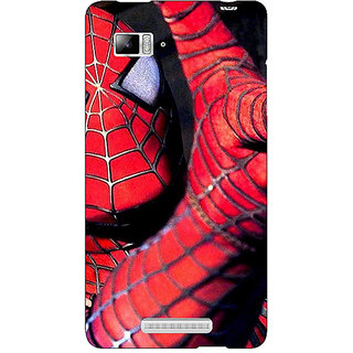 Jugaaduu Superheroes Spiderman Back Cover Case For Lenovo K910 - J710900