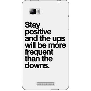 Jugaaduu Quotes Back Cover Case For Lenovo K910 - J711187