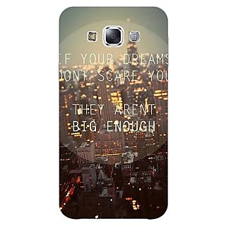 Jugaaduu Quotes Dreams Back Cover Case For Samsung Galaxy A7 - J431143