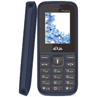Aqua Phoenix Dual SIM Basic Mobile Phone - Blue