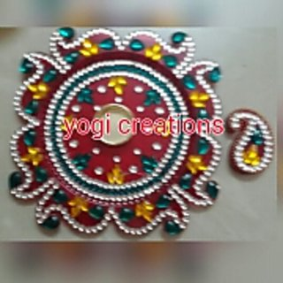 aarti thali with kumkum dabbi