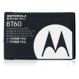 Original Motorola Bt 60 Battery For C290 Z6tv Z6m Motoq 9c 9h 9m I580 I880