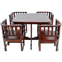 Sheesham Hardwood Dinning Table With 4 Chairs