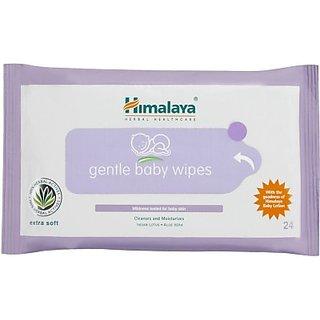 Himalaya  Gentle Babywipes 24s