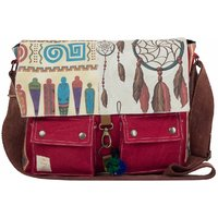 The House Of Tara 15 inch Laptop Messenger Bag (Multicolor) HTMB 016