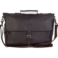 The House Of Tara 15 inch Laptop Messenger Bag (Brown) HTMB