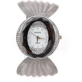 New Fashion Ladies Luxury Silver Quartz Wrist watches Women Rhinestone Watch