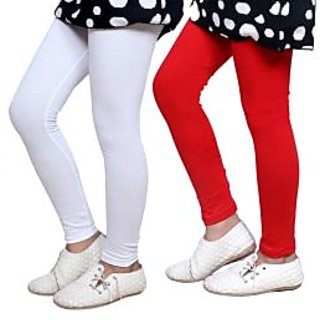 Indiweaves Kids Super Soft Cotton Leggings Combo 2-(7140371404-IW-K)