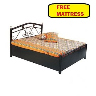 Diamond Queen Size Hydraulic Storage Bed Included With