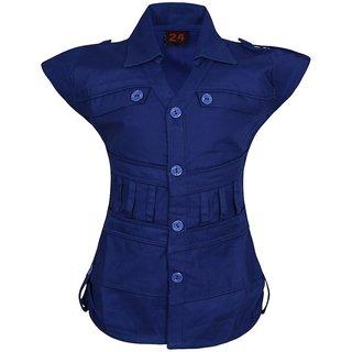 Jazzup Cotton Top For Girls-(KZ-ART1192)
