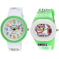 Omax Kids Fiber Watch Combo