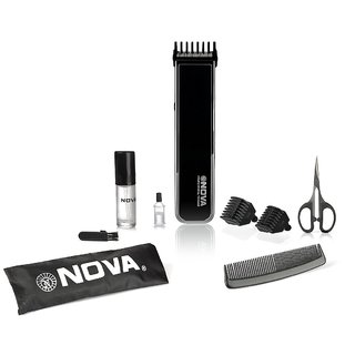 Nova NHT-1055 Pro Skin Advanced Friendly Precision Trimmer (Black)