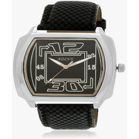 Adine Black Dial Analog Watch (AD-6024BLACK-BLACK)