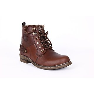 Do Bhai High Ankle Length Boots (Option 1)