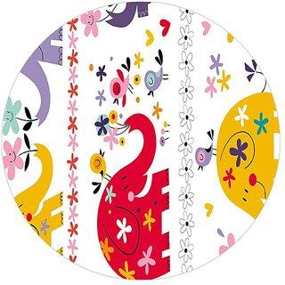Garmor Designer Circle Shape Mouse Pad