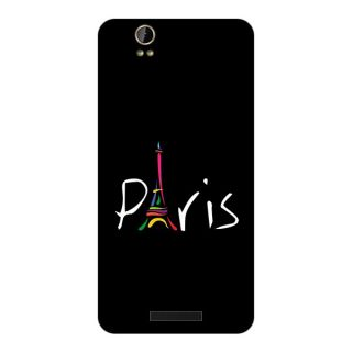 Garmor Designer Plastic Back Cover For Lava Iris X1