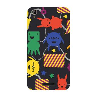 Garmor Designer Plastic Back Cover For Lava Iris X1 mini
