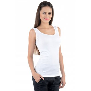 NumBrave White Tank Top