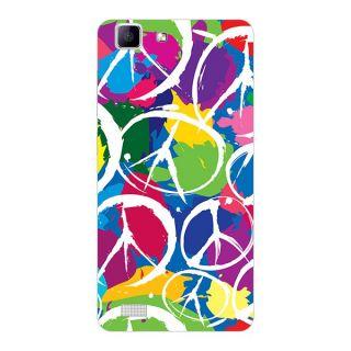 Garmor Designer Plastic Back Cover For Vivo X5