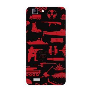 Garmor Designer Plastic Back Cover For Vivo Y27
