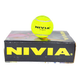 Nivia Ct-3812 Cricket Tennis Ball (6 Pieces)