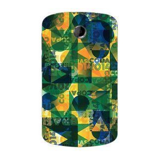 Designer Plastic Back Cover For HTC A310