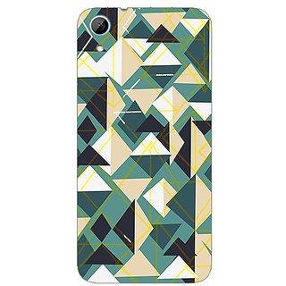 Designer Plastic Back Cover For HTC Desire 626