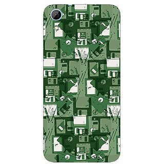 Designer Plastic Back Cover For HTC Desire 626