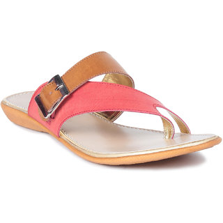 MSC Tan Casual Synthetic Leather Womens Footwears