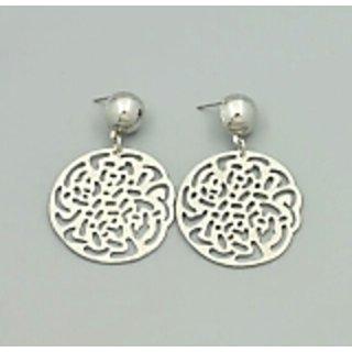 Flower cut out earrings ER0016