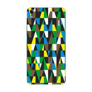 Designer Plastic Back Cover For Lenovo A7000