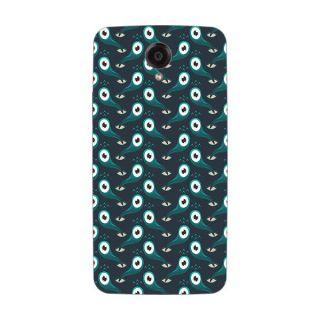 Designer Plastic Back Cover For Lenovo S820