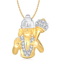 Hanuman God Pendant With Chain Lockets For Men And Women Gp159