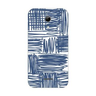 Designer Plastic Back Cover For Micromax A114 Canvas