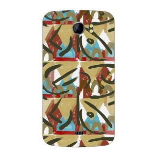 Designer Plastic Back Cover For Micromax A110 Canvas 2