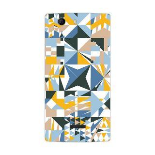 Designer Plastic Back Cover For Micromax Canvas Nitro 2 E311