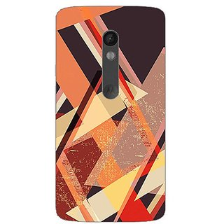 Designer Plastic Back Cover For Moto X Play