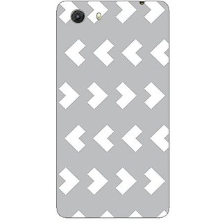 Designer Plastic Back Cover For Micromax Unite3 Q372