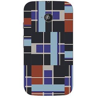 Designer Plastic Back Cover For Motorola Moto E2