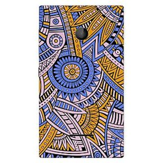 Garmor Designer Plastic Back Cover For Nokia Lumia 435