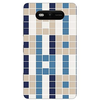 Garmor Designer Plastic Back Cover For Nokia Lumia 820