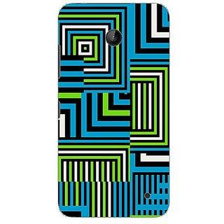 Garmor Designer Plastic Back Cover For Nokia Lumia 630