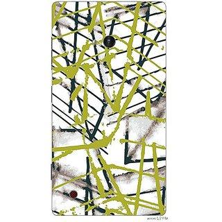 Garmor Designer Plastic Back Cover For Nokia Lumia 720