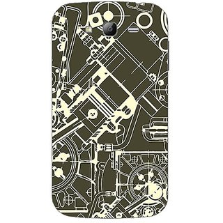 Garmor Designer Plastic Back Cover For Samsung Galaxy Grand I9082