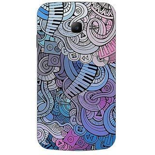 Garmor Designer Plastic Back Cover For Samsung Galaxy Star Pro S7262